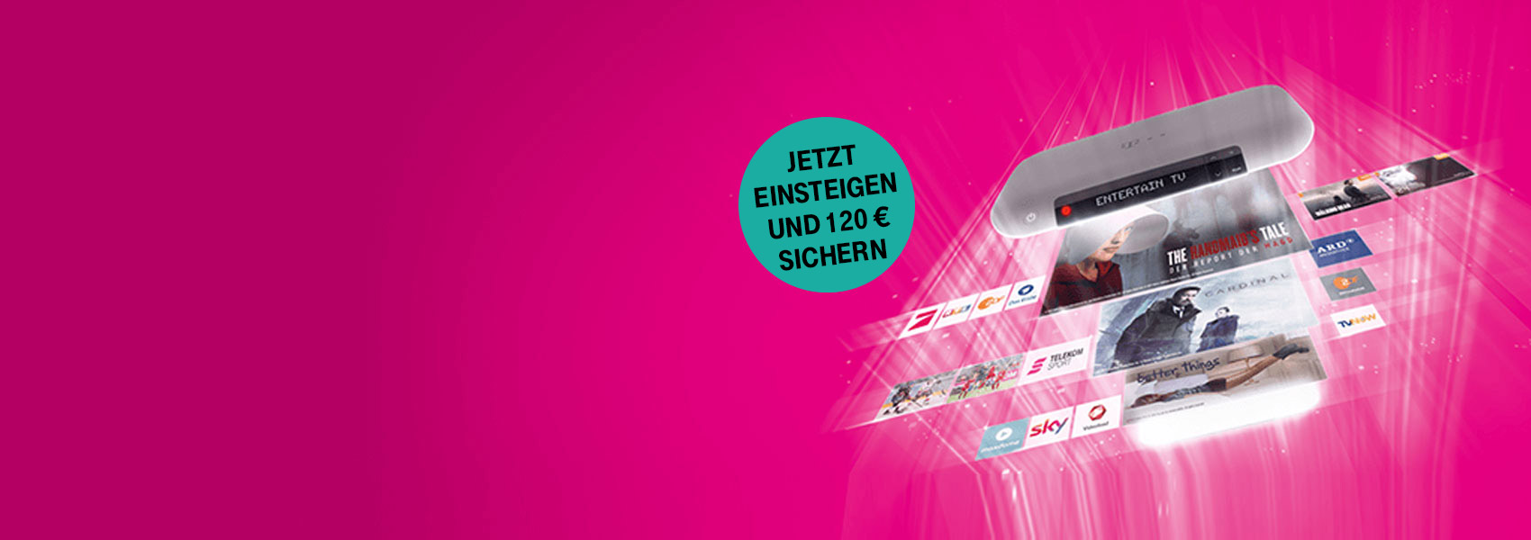 Telekom EntertainTV Serien