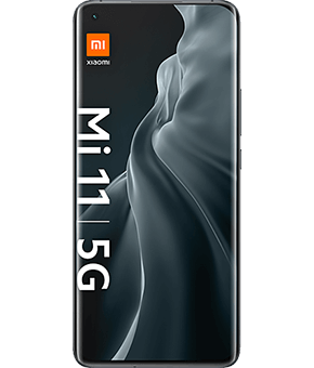xiaomi mi 11 midnight gray vorne